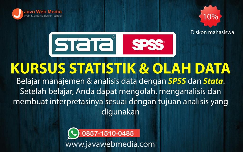 Kursus Statistik di Java Web Media